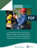 La Discapacidad en El Contexto Del Sistema General de Seguridad Social