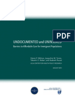 Undocumented and uninsured
