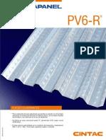 Losa Colaborante PV6-R CINTAC
