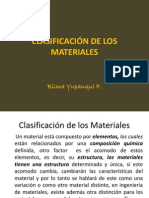 "CLASIFICACIÃ""N DE LOS MATERIALES.ppt"