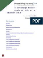Estilos de aprendizaje basados en el modelo Kold en la educación virtual