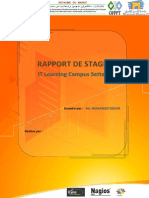 Rapport de Stage IT-Learning Campus Settat