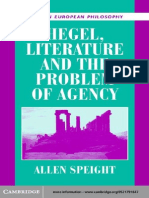 'Hegel, Literature and the Problem of Agency', by Allan Speight.pdf
