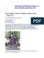 cath church and pius XII - wiki.doc
