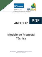 Modelo de Proposta Técnica