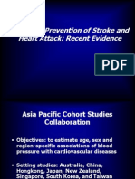 The Early Prevention of Stroke  Heart Attack Perki Smg 05.ppt