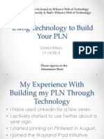 using technology to build your pln 11 14 13