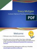 tracy mcegan e portfolio presentation