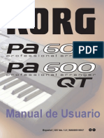 Pa600_manual_usuario Korg Planet Peru
