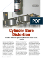 cylinder bore distortion