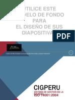 Formato de Diapositivas PAD 2013 - A