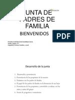 Junta de Padres de Familia