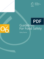 Guidelines Food Safety Dairy Farms January 2006
