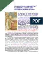 31 Visitas a Maria Santisima De