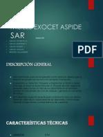 MISILES EXOCET ASPIDE PRESENTACION SAR.pptx