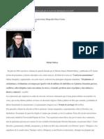 Disonancias-ART- Sobre Michel onfray-Entrevistas y reseñas