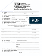 Waring Authorized Service Application 0554_001