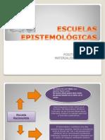 ESCUELAS EPISTEMOLÓGICAS