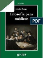 Bunge, Mario - Filosofía para médicos.pdf