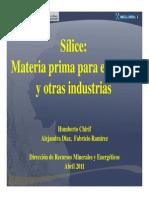 slicemateriaprimaparaelvidrioyotrasindustrias-120417175609-phpapp02