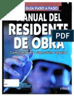 Manual Del Residente de Obra Uploaded by Efradeca