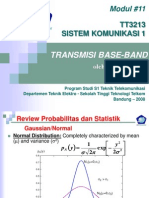 Modul 11 Siskom1 Base Band Transmission