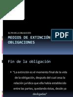47 Medios de Extincion de Las Obligaciones PAGO SUBROG CONSIGNACION 2009