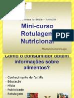Mini-Curso Sobre Rotulagem(Prof Rachel)