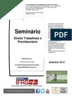 Direito Trabalhista e Previdenciario Valeria Telles-Osasco 2109