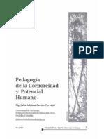 Pedagogia de La Corporeidad y Potencial Humano