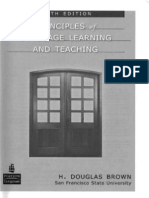 Brown, H. D. 2007. Principles of Language Learning and Teaching Fifth Edition.