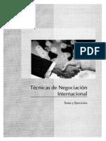 Técnicas de Negociación Internacional
