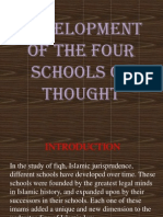 development of schools of thought in Islam.pptx