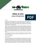 Antognazza, Jorge E. - Adios Al Amo