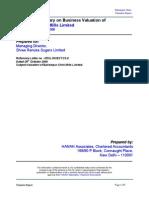 16350GROUP XV Executive Summary on BCML Valuation