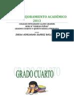 PLAN DE MEJORAMIENTO ACADÉMICO 2013