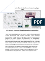 Machinery Installation On First Floor.av mounts.pdf