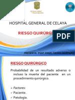 Riesgo Quirurgico Hgc