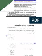 Latihan Un Bahasa Arab (1)