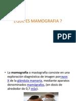 Que Es Mamografia