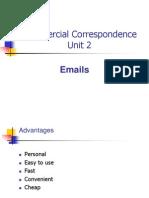 CC Unit 2, Emails