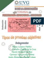 EXPO PERALTINE TIPÓS DE PRUEBAS