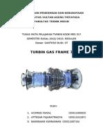 TURBIN GAS FRAME 7