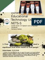 PowerPoint (NETS-T 1,3)