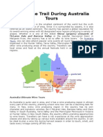 Australia Tours To Wine Regions.doc
