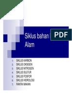 SIKLUS ALAM