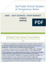 GPPSS Financial Transparency Series_2009-10 Budget