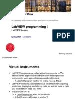 l2 Labview Programming i