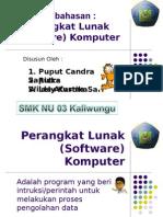 KEL 1 Perangkat Lunak Software Komputer