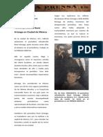 Fallece periodista René Arteaga en Ciudad de México